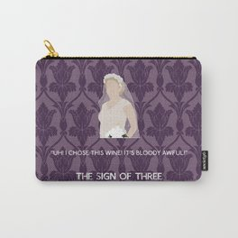 The Sign of Three - Mary Morstan Carry-All Pouch