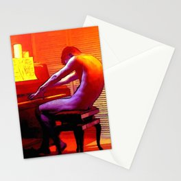 Le Pianiste Amoureux Stationery Cards