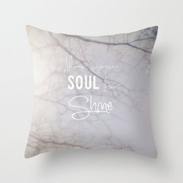 Soul Shine Throw Pillow