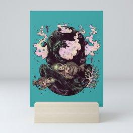 Dive or Die Mini Art Print