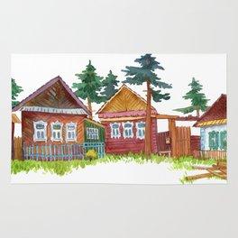 Village romance Rug