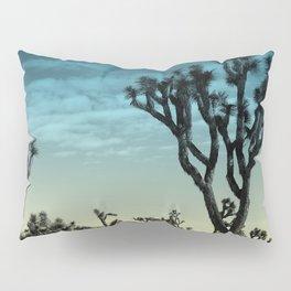 Joshua tree park blue Pillow Sham