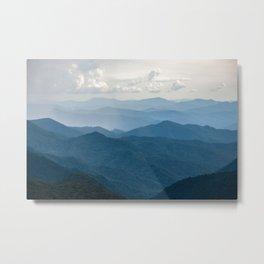 Smoky Mountain National Park Nature Photography Metal Print