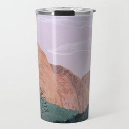 Zion National Park, Utah, USA Illustrated National Parks Travel Mug