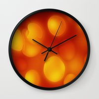 cheese Wall Clocks featuring Cheese by Andrii Turtsevych