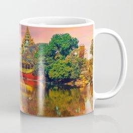 Yangon, Myanmar #society6 #decor #buyart Coffee Mug