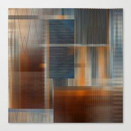 Uninhabited Mosaic (Zig Zag) Canvas Print