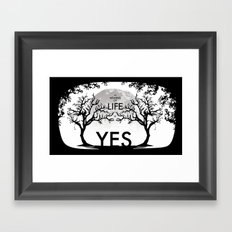 The Meaning Of Life Framed Art Print