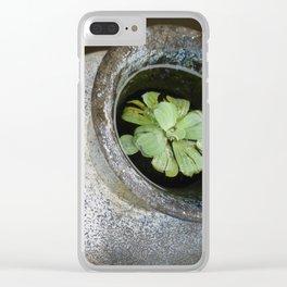 Zen Pond Clear iPhone Case