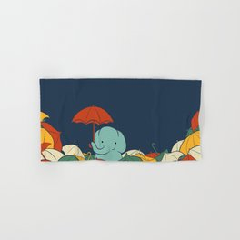 Umbrellaphant Hand & Bath Towel