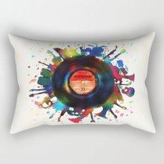 unplugged Rectangular Pillow