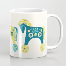 Swedish Toy Horses Coffee Mug