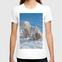 Alpine Mountain, Les Arcs Resort T-shirt