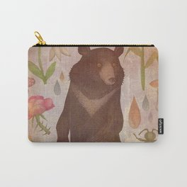 Asian Black Bear Carry-All Pouch