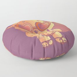 Summer Bear Floor Pillow