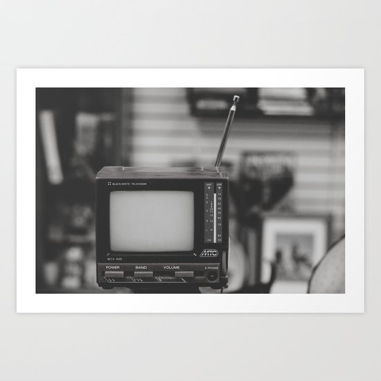 "Reality TV - ""Analog zine"" Art Print"