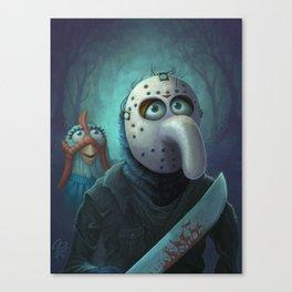 Muppet Maniac - Gonzo Voorhees Canvas Print