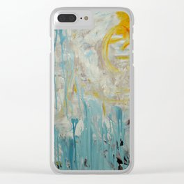 The Bright Side Clear iPhone Case