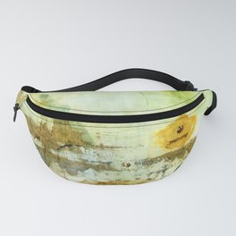 Drifting, Abstract Landscape Art Painting Fanny Pack