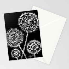 White Flower 21 Stationery Cards
