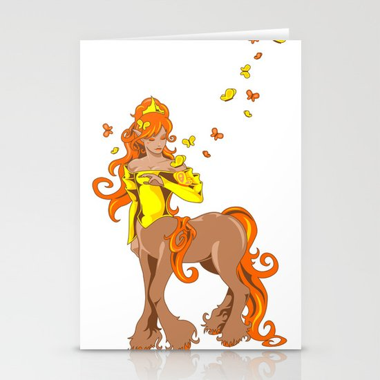 Female Centaur Stationery Cards