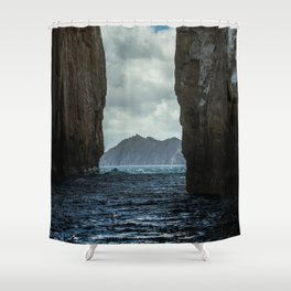 Kicker Rock Galapagos Shower Curtain