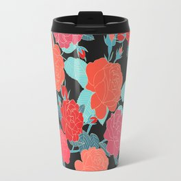 Rose Garden - Dark Travel Mug