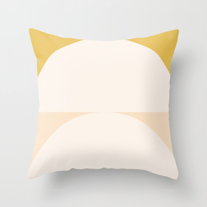 Abstract Geometric 01 Throw Pillow