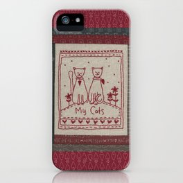 My Cats iPhone Case