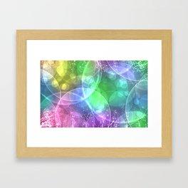 ABSTRACT--FULL Color Framed Art Print