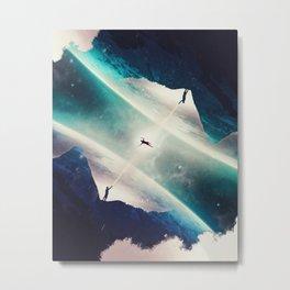 Between Two Worlds Metal Print
