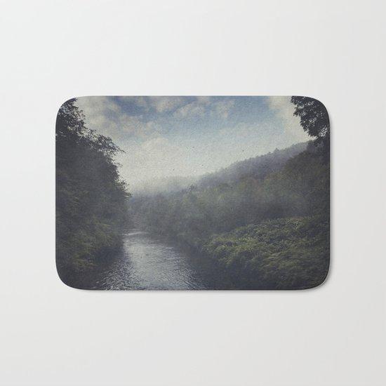 Wilderness in Mist Bath Mat