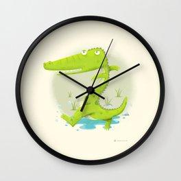 Croco Wall Clock