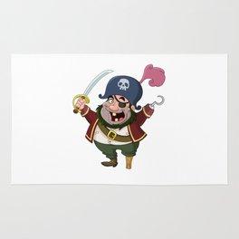 Pirates Cartoon Rug