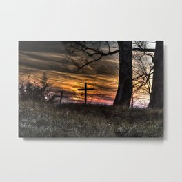 May your faith sustain you Metal Print