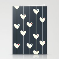 calendars Stationery Cards featuring Heart  by Shabby Studios Design & Illustrations ..