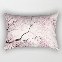 Pink branches Rectangular Pillow
