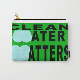 bbnyc's clean water statement #1 Carry-All Pouch