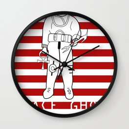 Ancient Astronauts the gods from planet x ALTERNATIVE Wall Clock