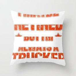 trucker gift truck long-distance truck lorry truck Throw Pillow
