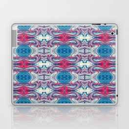 Red White and Blue Abstract Laptop & iPad Skin