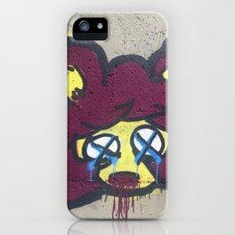 Dead Graff Cat iPhone Case