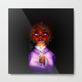 Shedding Light on Racism Metal Print