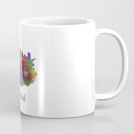 Iceland in watercolor Coffee Mug