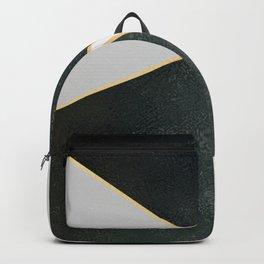 Black White Gold Backpack