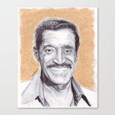 Sammy Davis Jr Pen Drawing  Canvas Print