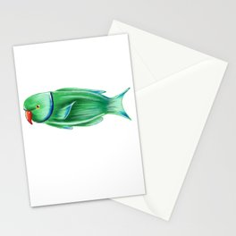 Mermay2018 collection – Parrot Fish Stationery Cards