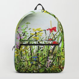 Wilde Flowers 8 Backpack