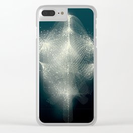 Filament and Light 4 Clear iPhone Case