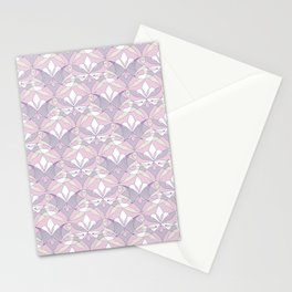 Interwoven XX - Orchid Stationery Cards
